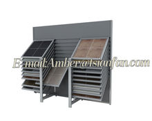 Tsianfan --45 Degree Horizontal Side Sliding Marble Slab Display Rack CX135