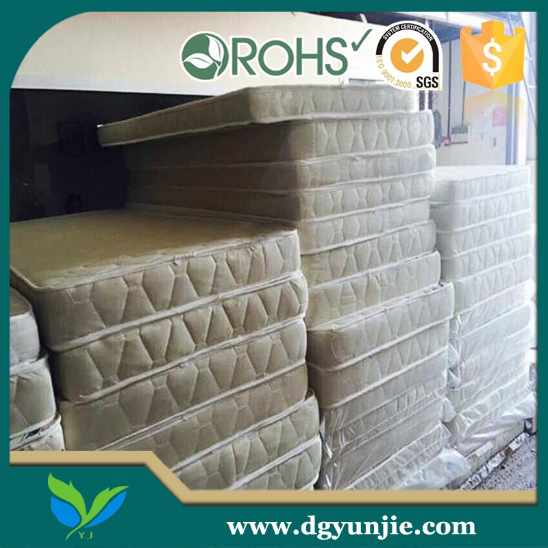 Widely used thin PU foam machine rebonded use mattress for sale
