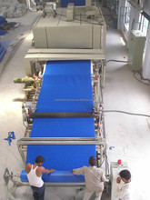 Plastic door mat production line