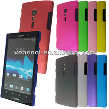 Rubber Hard Back Cover Case for Sony Ericsson Xperia ION LT28i