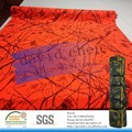 pvc /pu waterproof polyester camouflage fabric for ski bag