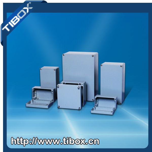 IP66 die cast aluminium enclosures