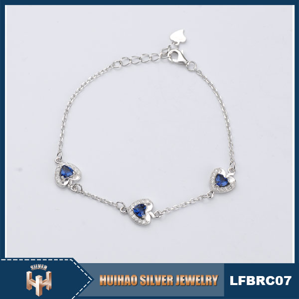 Hot selling Antique 925 bracelet silver manufacturer