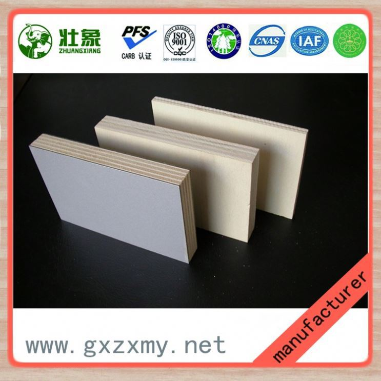 Cheap price commerial door skin size plywood