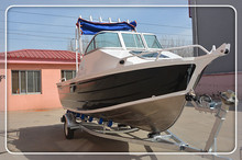 high quality good price 17ft 5m cuddy cabin aluminum motorboat
