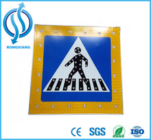 electronic traffic signs solar powered traffic sign led traffic signs