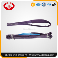 Polyester rigging lifting flat B sling/belt with high safety factor