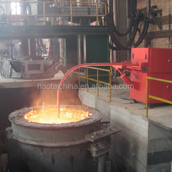 Industrial steel scrap melting electric furnace