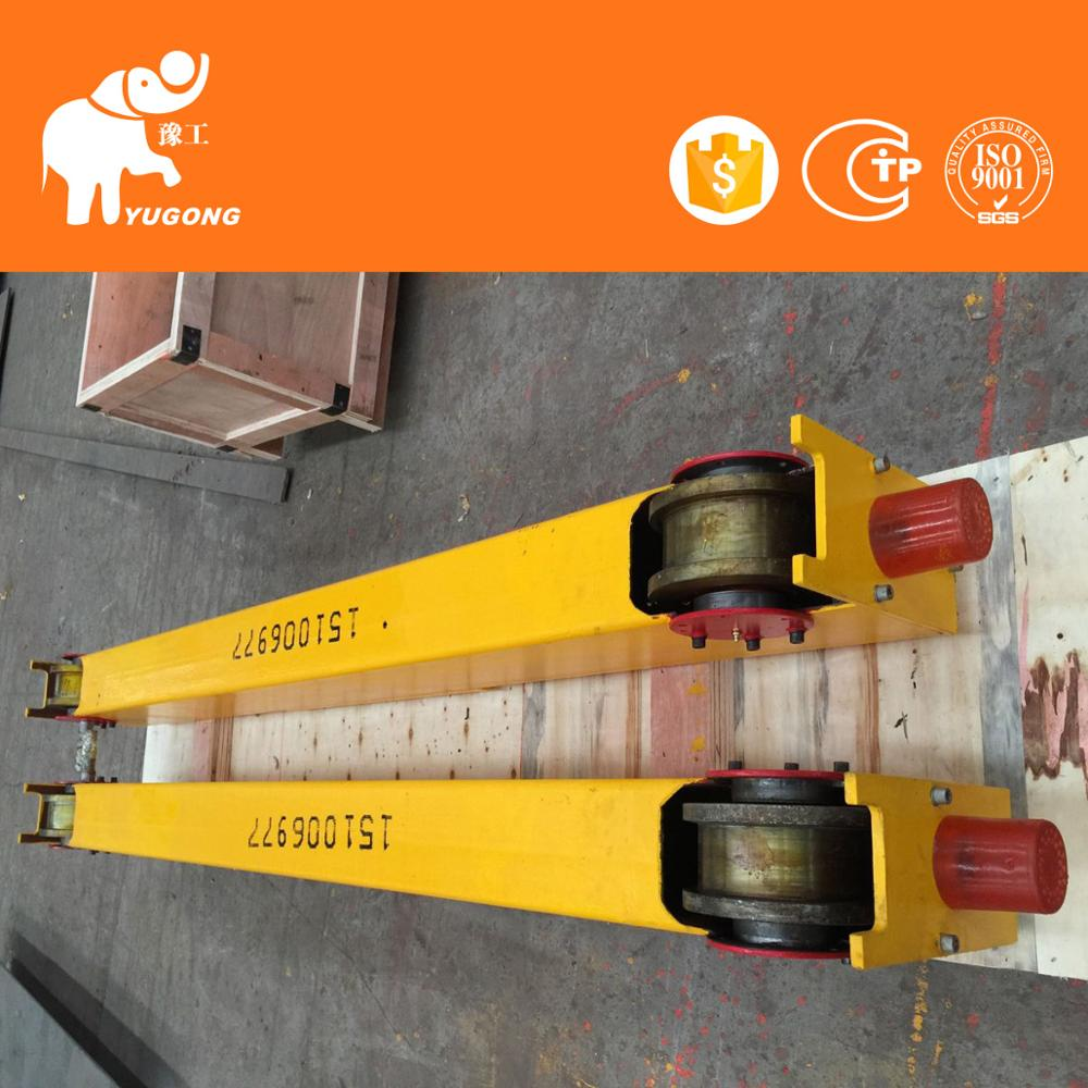 10 Ton Overseas Service Single Track Light Duty Rail Bridge Crane Price With Ce Mark
