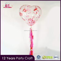 "Unique Products To Sell 36 ""Giant Latex Balloons With Tassel Garland For Confetti Balloon"