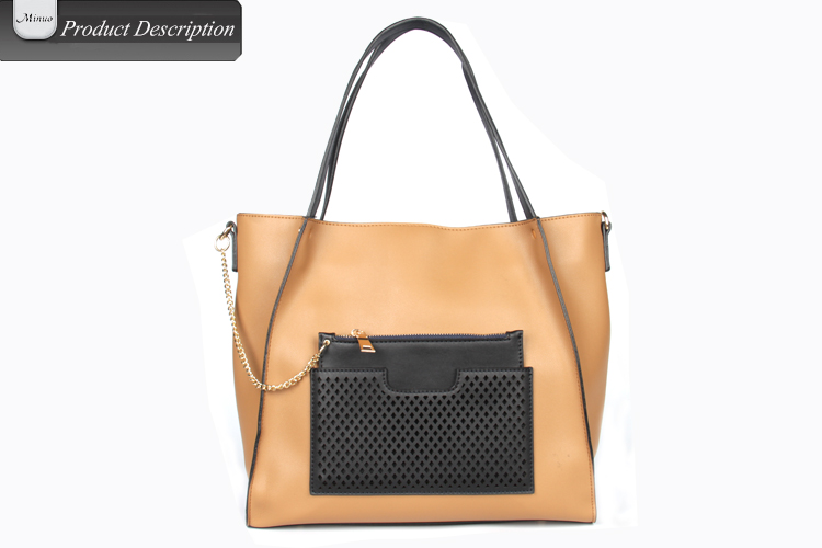 8727-lady fashion bag wholesale lady leather bag new design lady pu bag