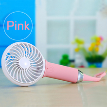 Air Cooling MINI Fan Hot Selling Gift for Summer Handheld Fan With Led Ligh& Power Bank