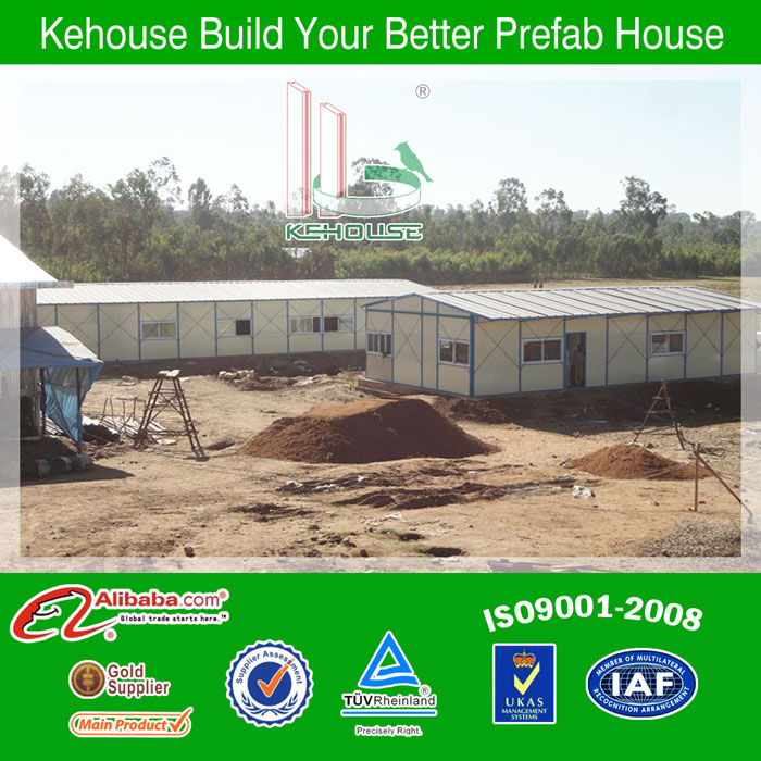 Chinese/Low Cost/portable/mobile construction prefabricated house for resident living