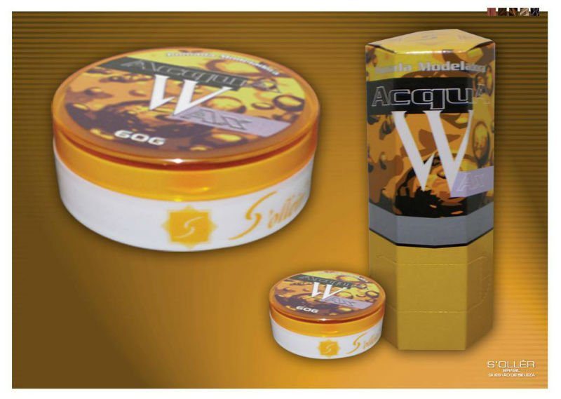 Surf & Acqua Wax system for hair modeling