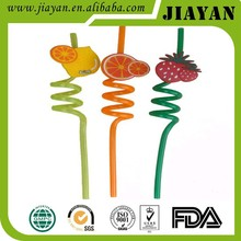 beautiful decorated flexible drinking straw factory produced