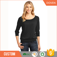 wholesale oem blank round neck t-shirt cotton