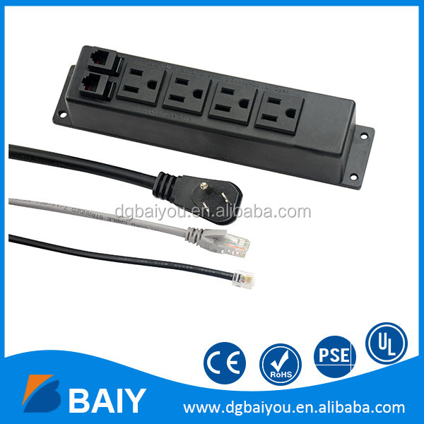 Competitive price top quality Custom cord length USB socket outlet