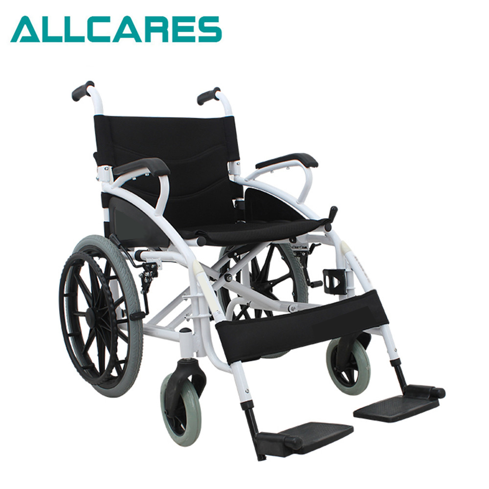 Health care folding manual light hospital used wheelchair for sale