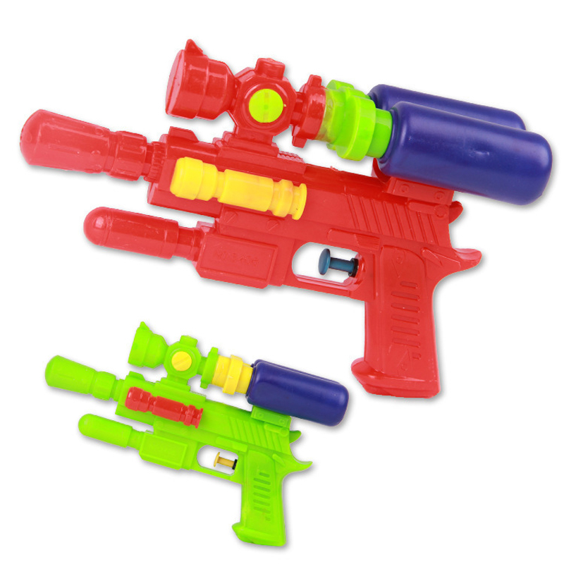 Plastic Toys Big Toy Water Gun Pistol Inflatable Pressure Gun Fun Sports Outdoor Summer Beach Shooting Squirt Nerf Water Bullet