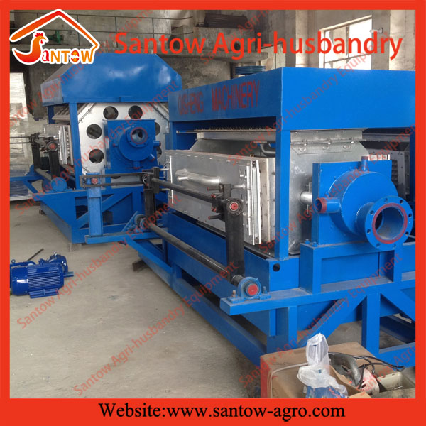 Small paper pulp egg tray molding machine