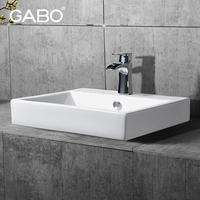 Ceramic Hand Wash Sink Bathroom Basins with Cabinets