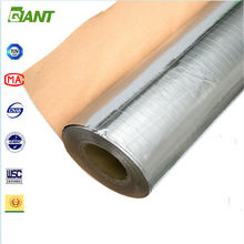 2015 factory aluminium insulation, insulation sheet with aluminium cladding, mineral wool insulation aluminium foil