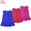 China supplier velvet cheap children latest fashion dress designs