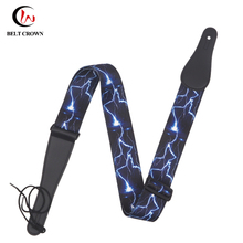 Fashion Style Rainbow Guitar Strap Guitar Shoulder Strap for Musical Instrument Accessories