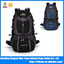 Outdoor mountaineering bag shoulder bag large capacity men and women travel bag 50L multi-functional waterproof backpack walking