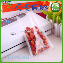 Heat clear Seal Vaccum Bags For Food Soybean And vegetable