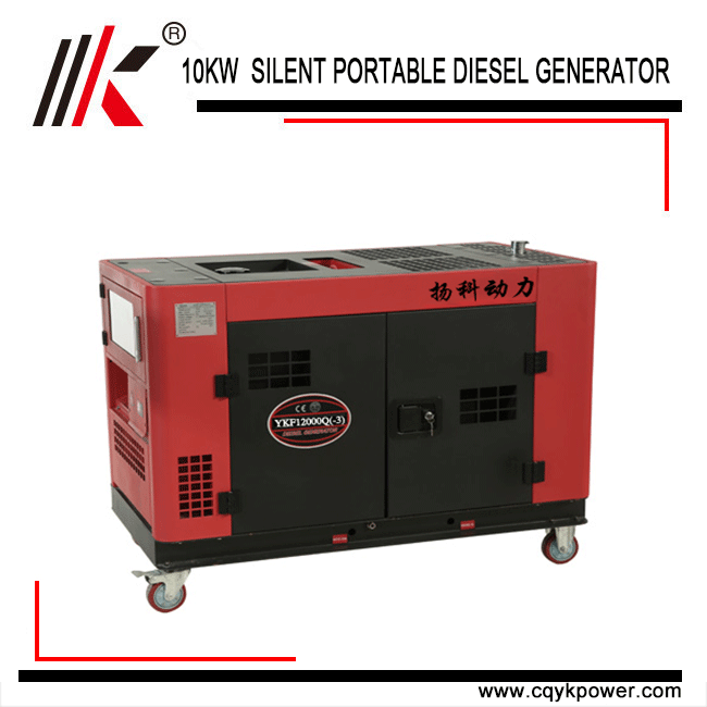 10kw 10kva silent diesel generator with Air cooled small dynamo generators for sale
