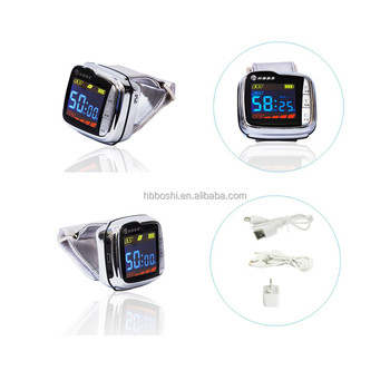 Househeld 650nm Laser Therapy Diabetes Bio Laser Therapy Watch