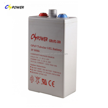CSPOWER OpzV Battery Tubular Plate Battery 2V 300AH