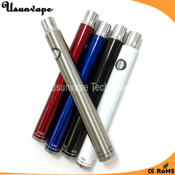 510 twist variable voltage preheat battery 350mah
