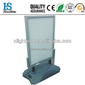 Water base LED light box displays/Wate base stand light box