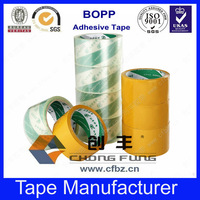 Water Activated Adhesive Type clear bopp adhesive tape