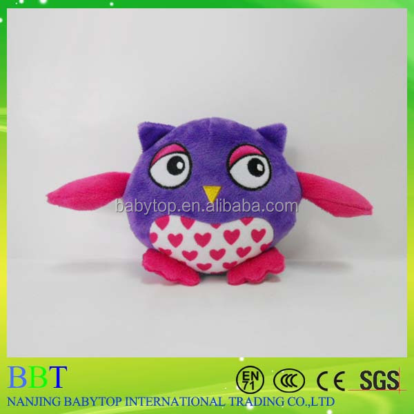 The most popular pet toy mini owl bird toy for cat