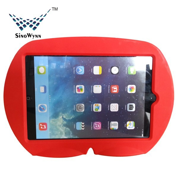 2014 new product for Christmas Gifts &Kids Toys, Silicone Shockproof case for iPad and iPad mini