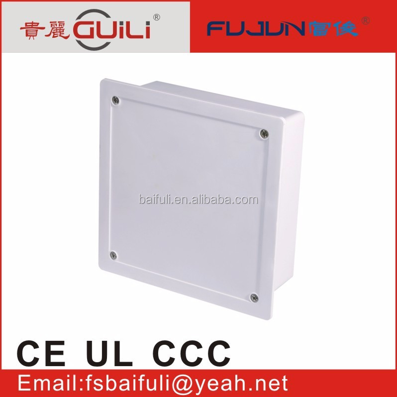 top high quality factory made wholesale wall mounted plastic Insert build-in electrical wire box junction boxes