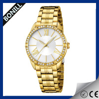 Fashion Ladies watch Women luxury watches made in china Bling Diamond watch