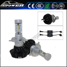 Hottest 4000lm H4 H13 H15 9004 9007 Philip chip with adjustable beam angle auto fog light car light led headlight