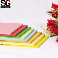 4X8 colored PVC fascia board soft PVC foam board