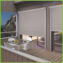 guangzhou manufacturer fashion outdoor clear roller blinds