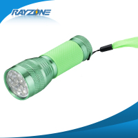 100% factory directly leds aluminum flexible flashlight telescopic