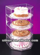 4 tier acrylic cake stand