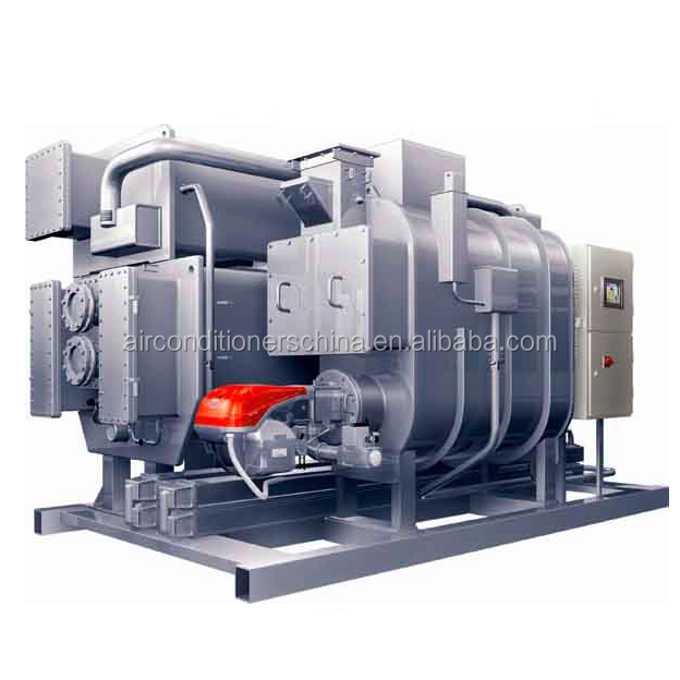 Direct Fired LiBr chillers Industrial Air Conditioners