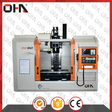 "OHA"" Brand VMC-855 3 Axis Linear Guide Way Cnc Vertical Machining Center, High Quality New Vertical Mini Cnc Machining Center"