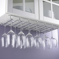 bar accessories wine glass rack under cabinet