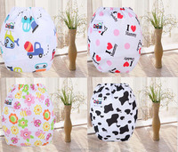 cartoon printed new baby adjustable cloth cloth diaper, reusable nappies,
