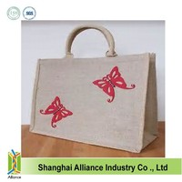 Customized cheap logo printing shopping tote bags ALD1002